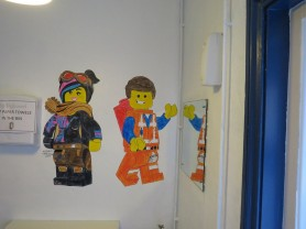 Lego painting at Springboard