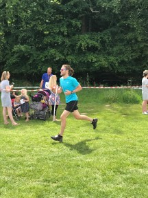 Ben at the Horsham 10k