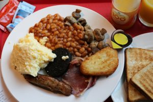 An full English breakfast